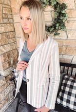 Katie Striped Blazer