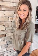 Kelsey Sage Babydoll Top