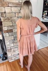 Carly Sienna Foil Print Dress
