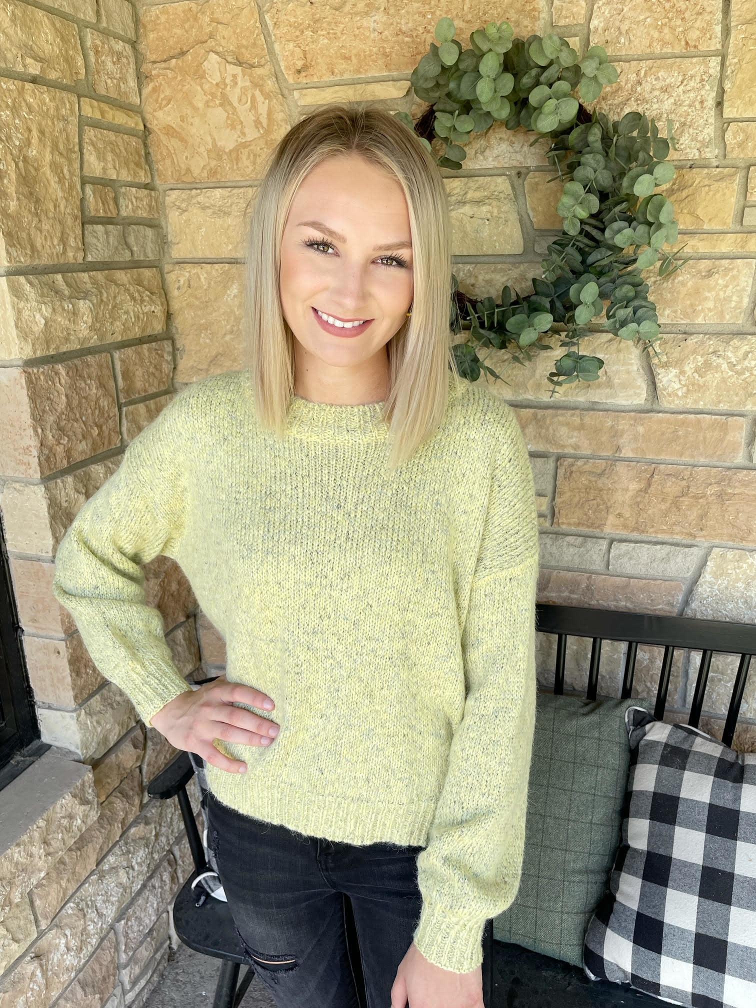 Tessa Yellow Sweater