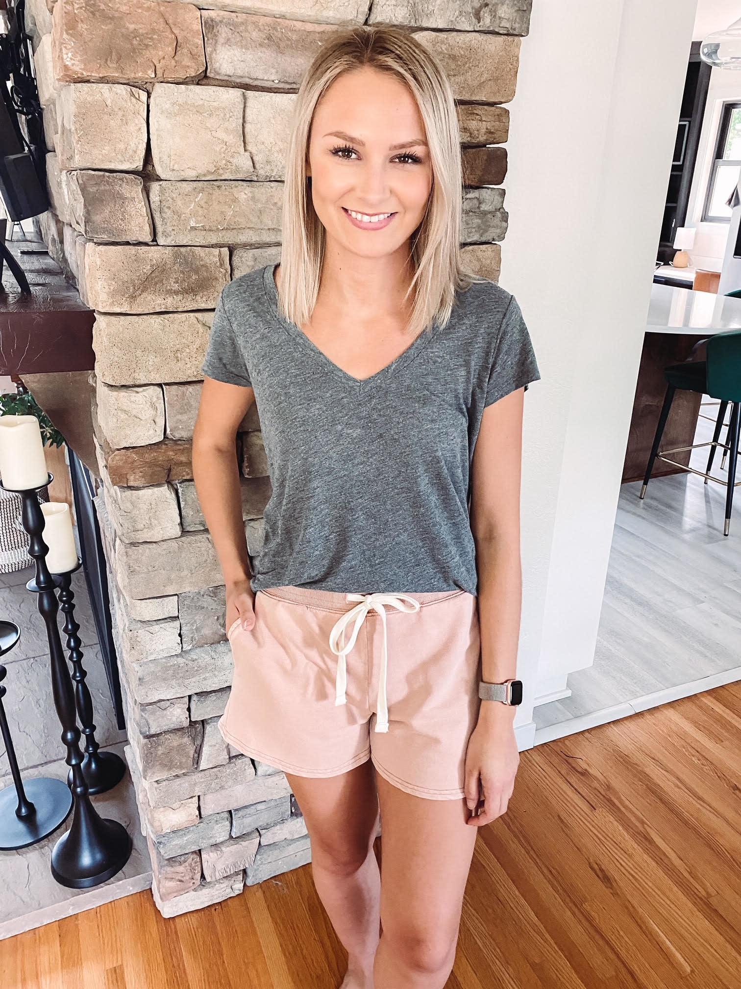 Nicole Ginger Shorts