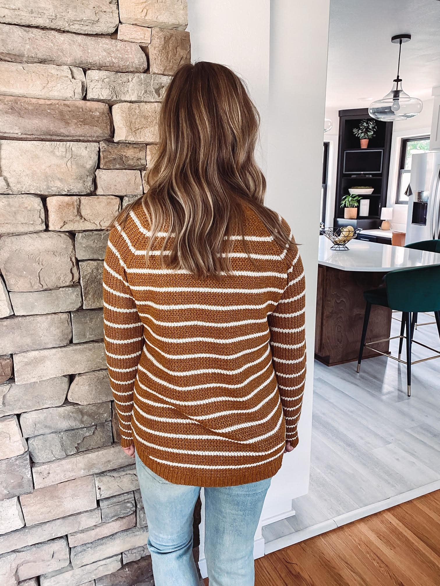 Lennox Amber Striped Sweater