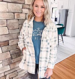 Megan Plaid Jacket
