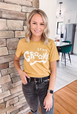 Stay Groovy Graphic Tee