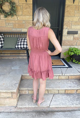 Kaley Sienna Ruffled Dress