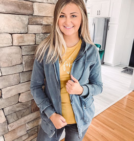 Lindsey Denim Cargo Jacket