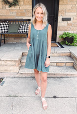 Willow Teal Green Dress