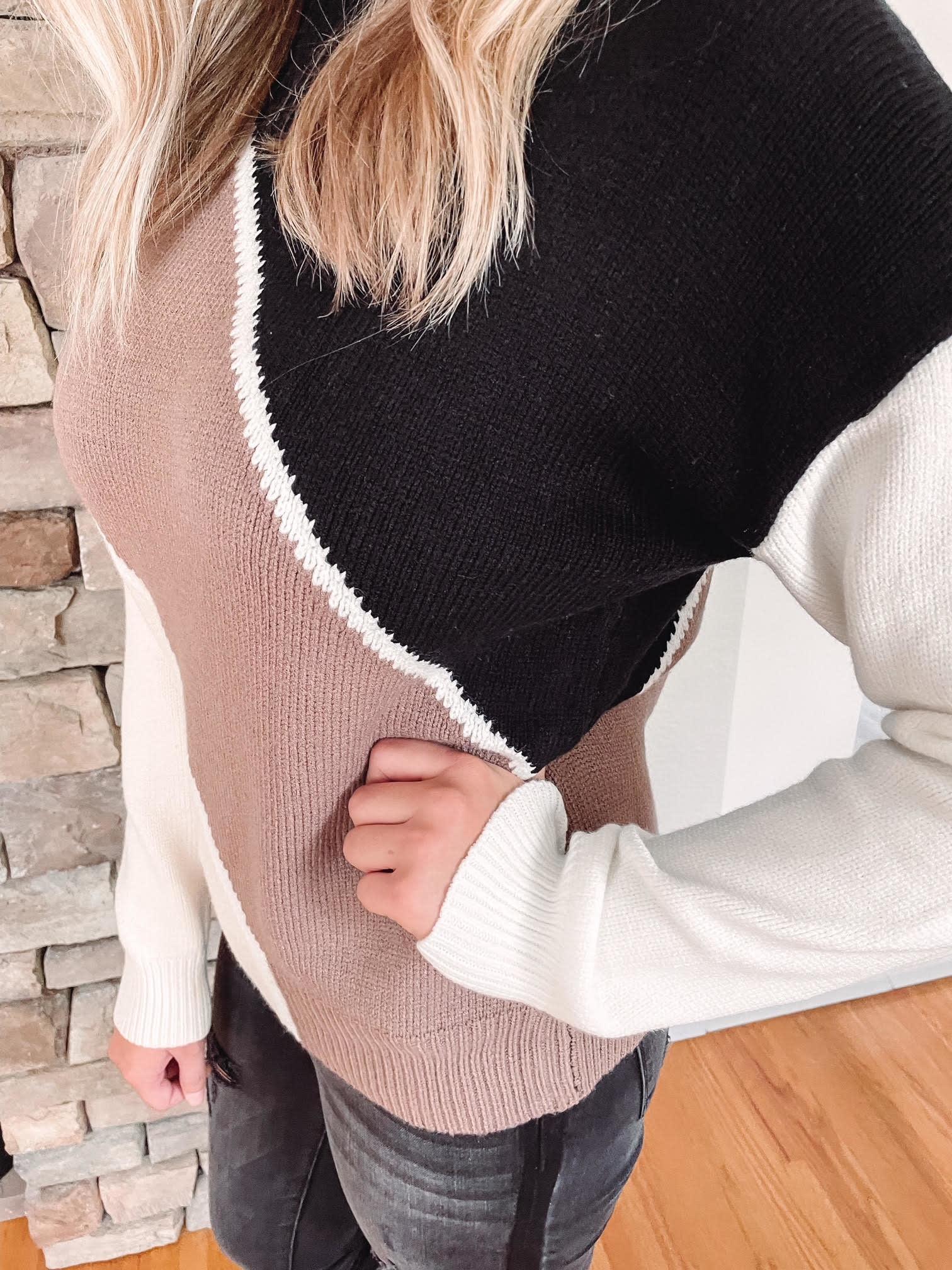 Sydney Colorblock Sweater