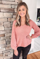 Abby Apricot Sweater