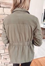 Brooklyn Dark Olive Jacket