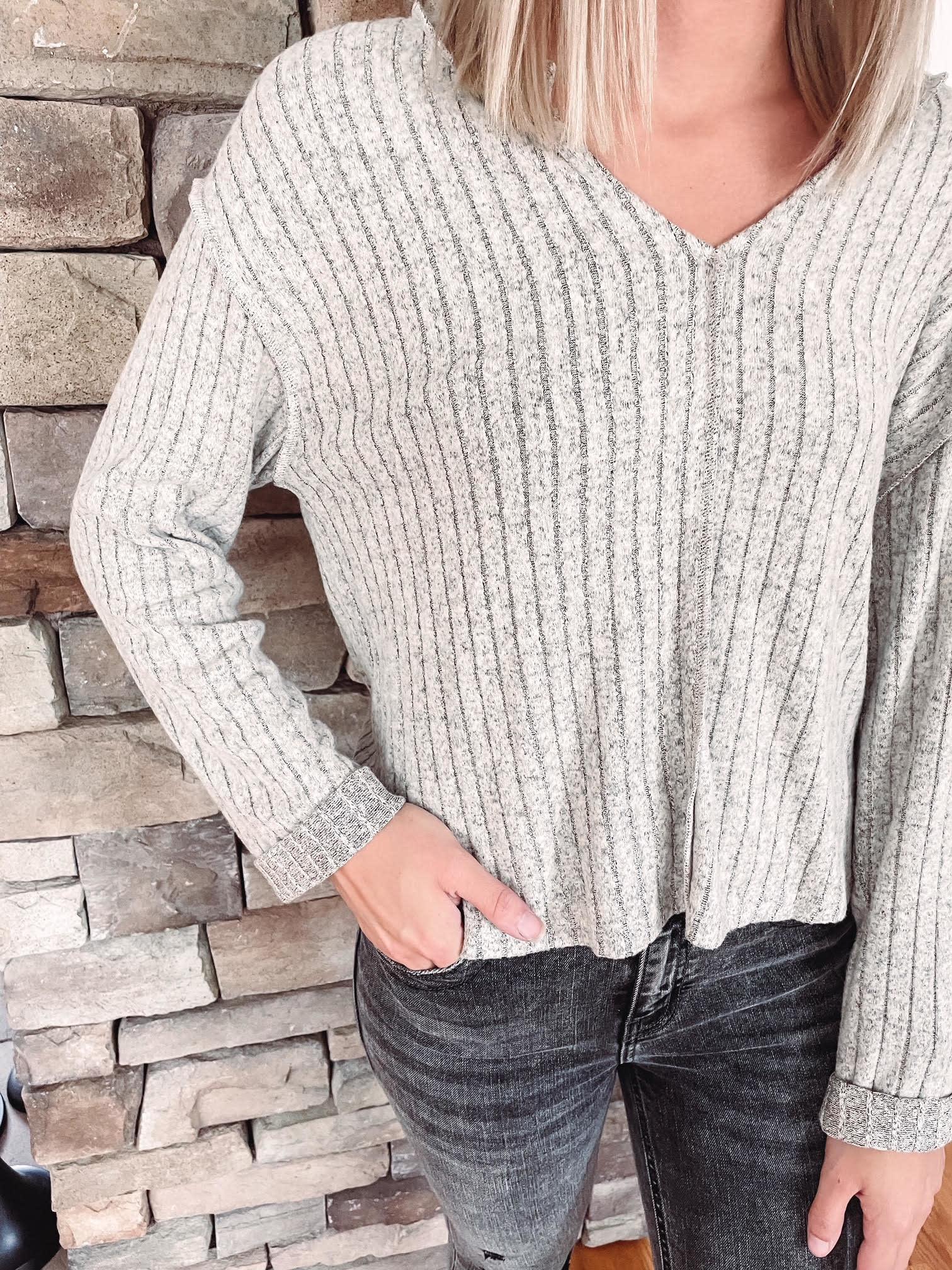 Hadley Oatmeal Long Sleeve