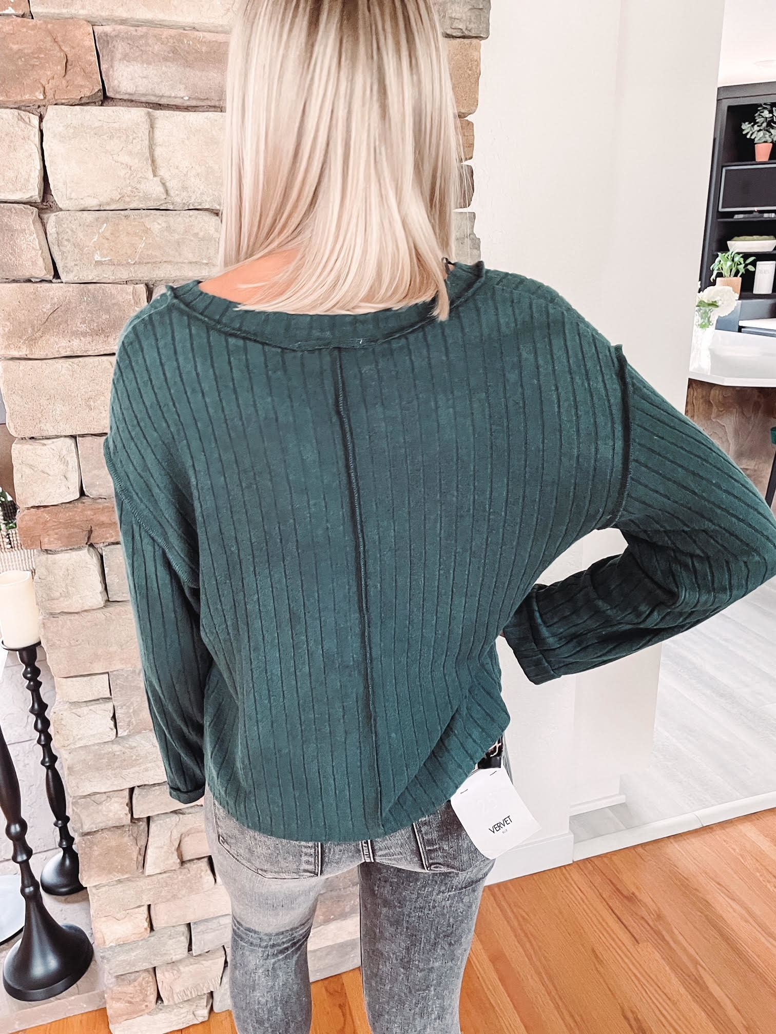 Hadley Deep Green Long Sleeve