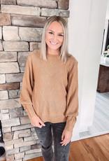 Tenley Camel Sweater