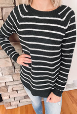 Lennox Forest Striped Sweater