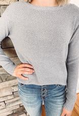 Alexa Light Grey Sweater