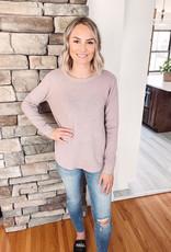 Alexa Powder Rose Sweater