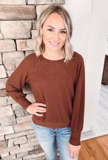Harper Rust Sweater
