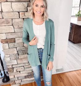 Finley Dusty Jade Cardigan