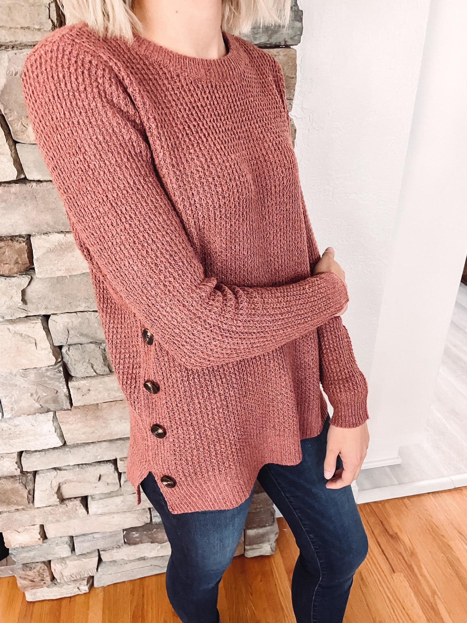 Maddie Rust Sweater