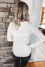 White Stacy Long Sleeve