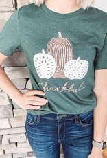 Thankful Forest Green Tee