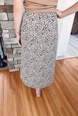 Sami Leopard Midi Skirt