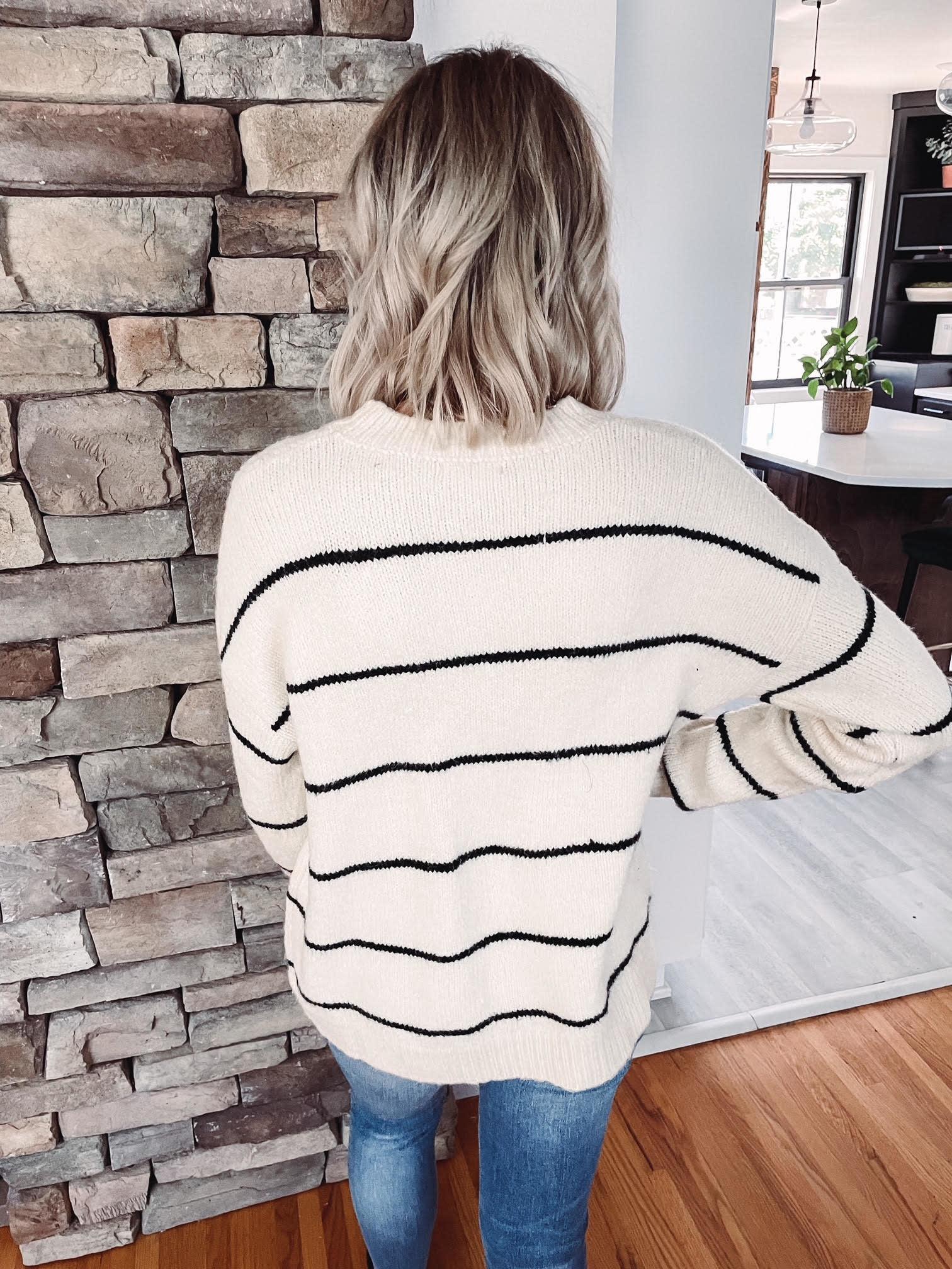 Cora Striped Sweater