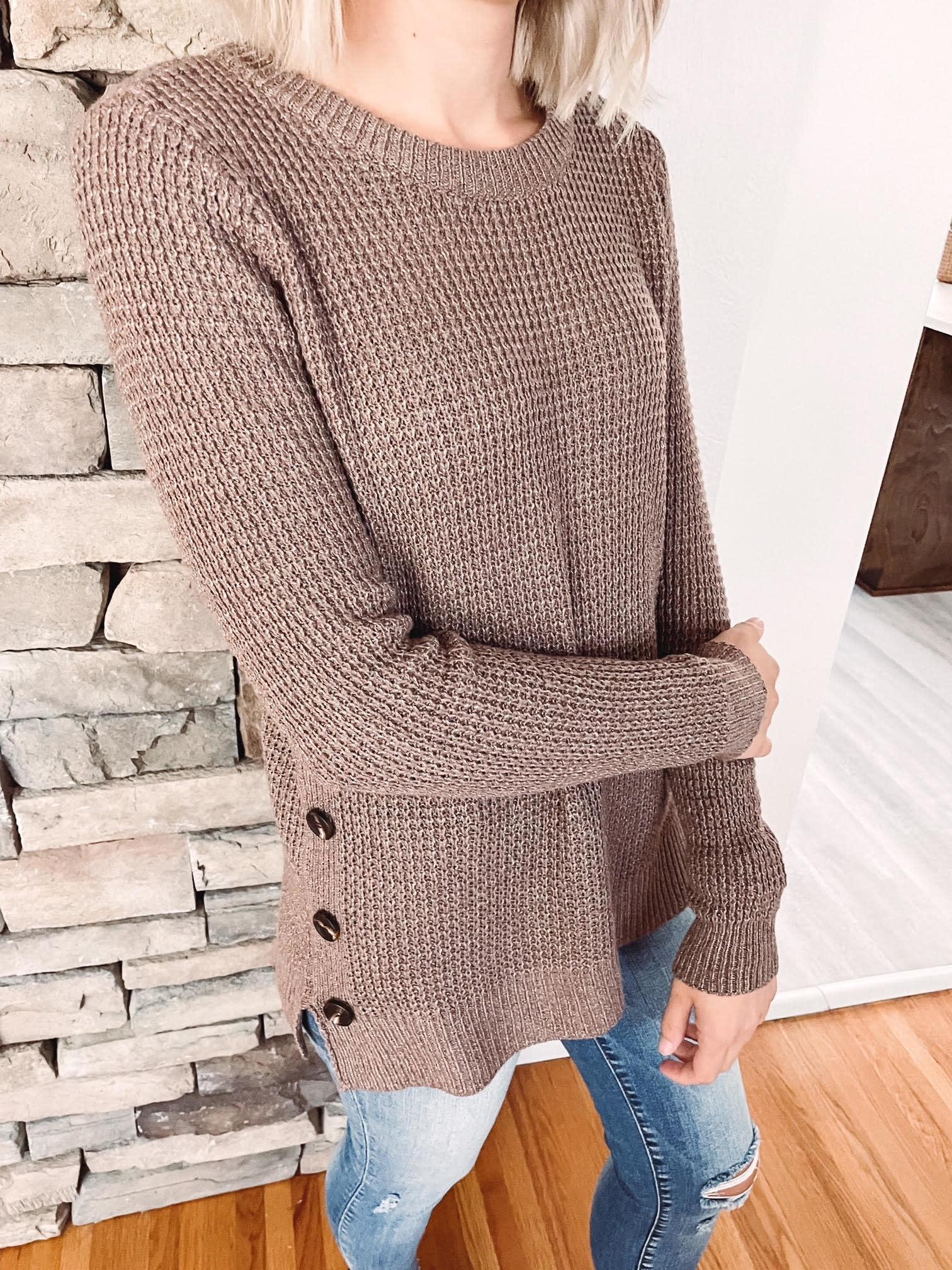 Maddie Cappuccino Sweater