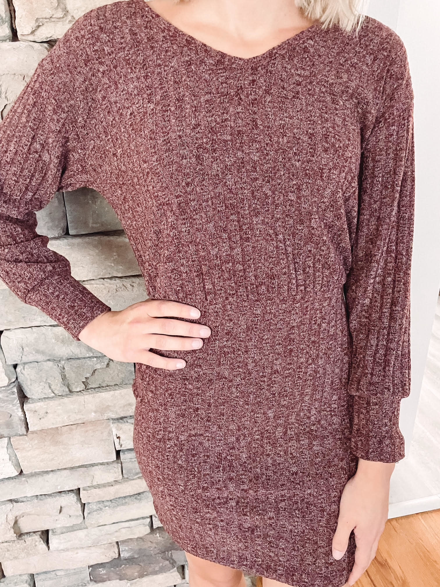 Carey Twist Back Dress