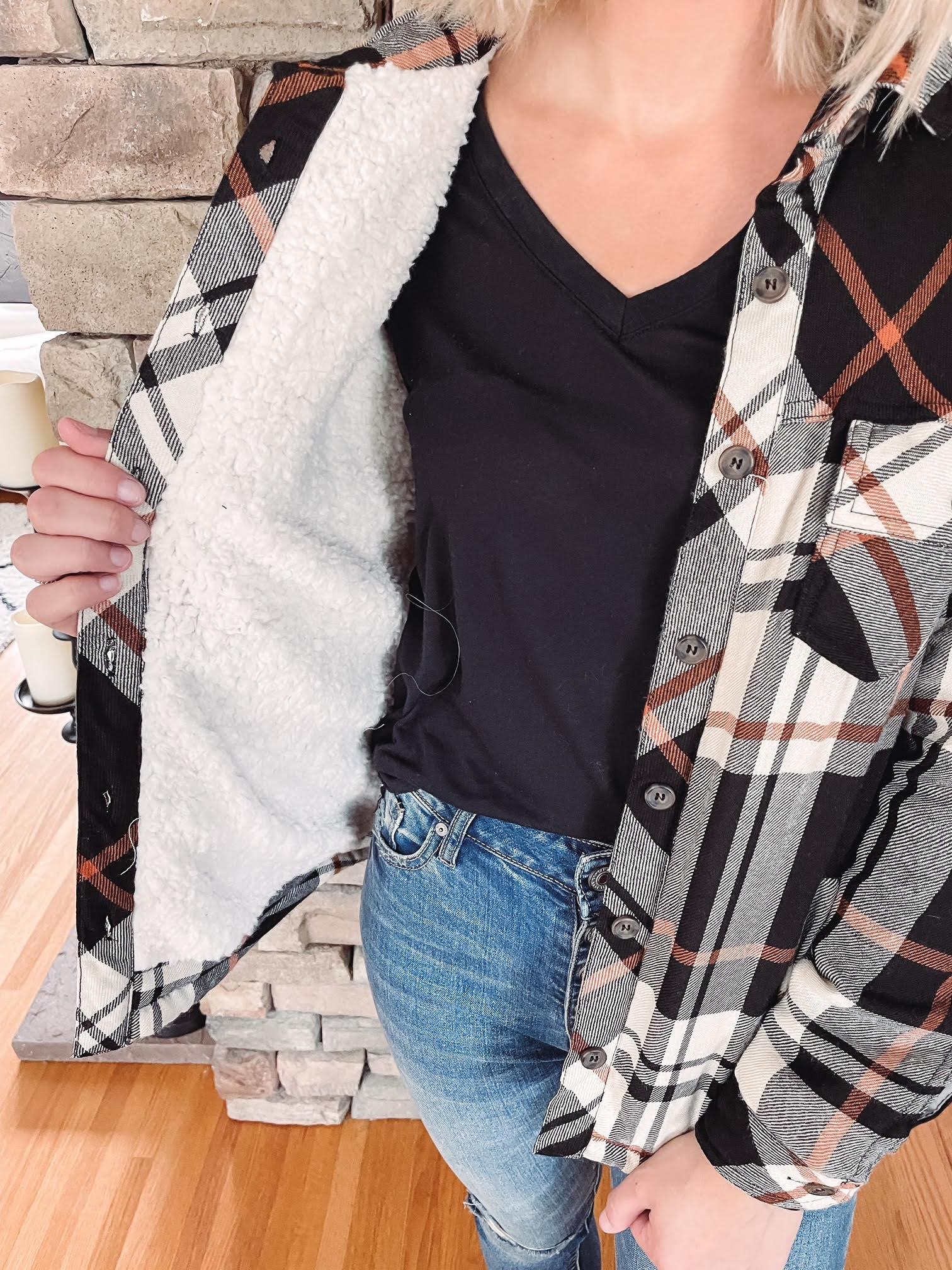 Oakley Sherpa Plaid Jacket