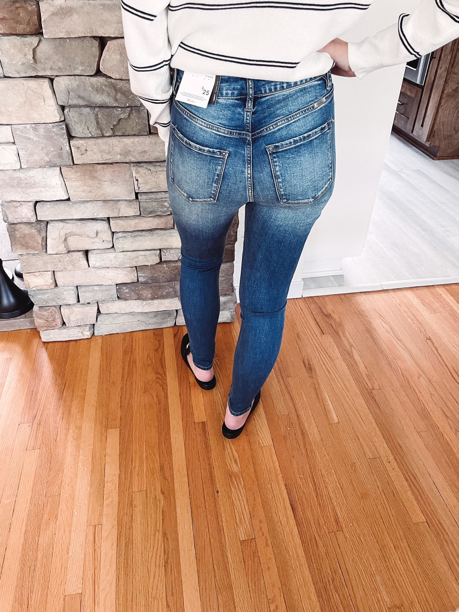 Eden Curvy High Rise Jeans
