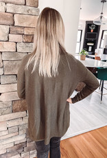 Anne Olive Slouchy Cowl Neck