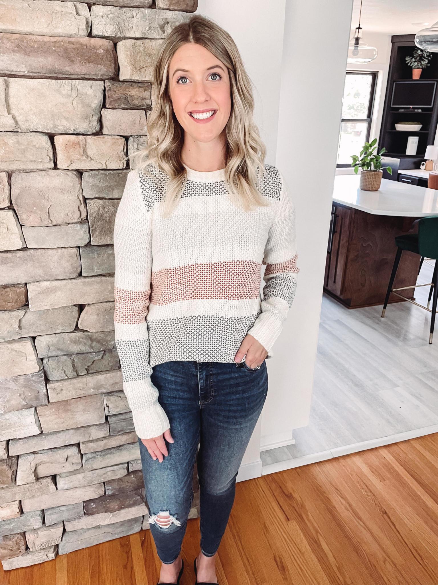 Jordyn Colorblock Sweater