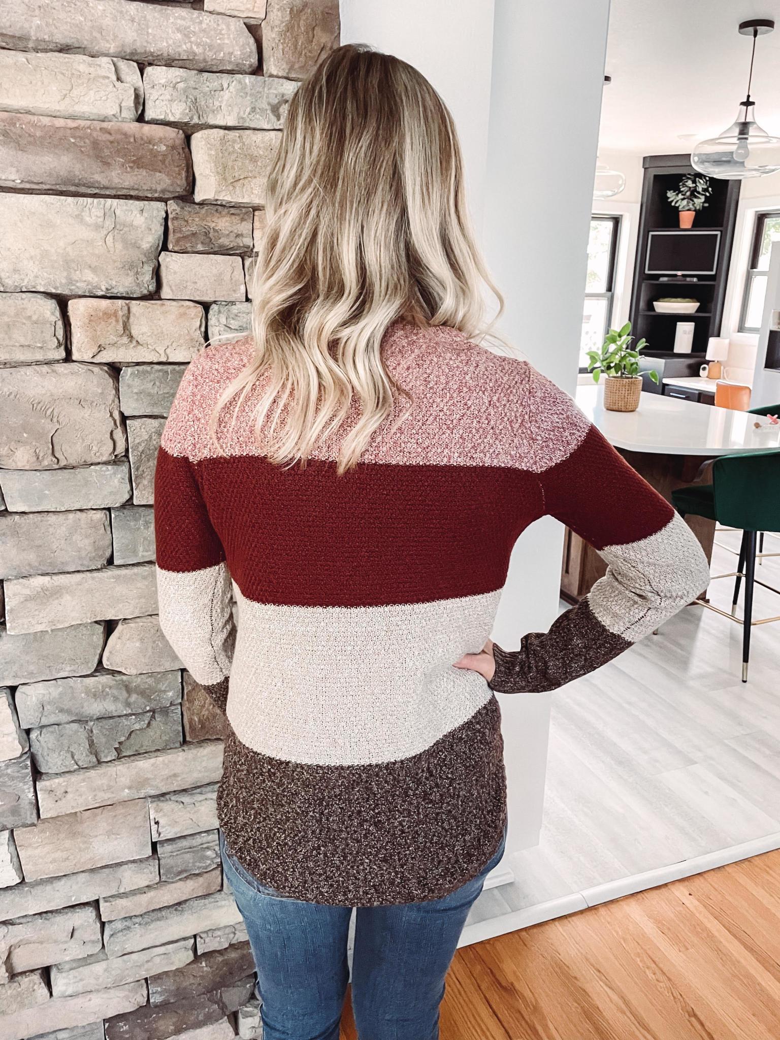JadaLeigh Colorblock Sweater