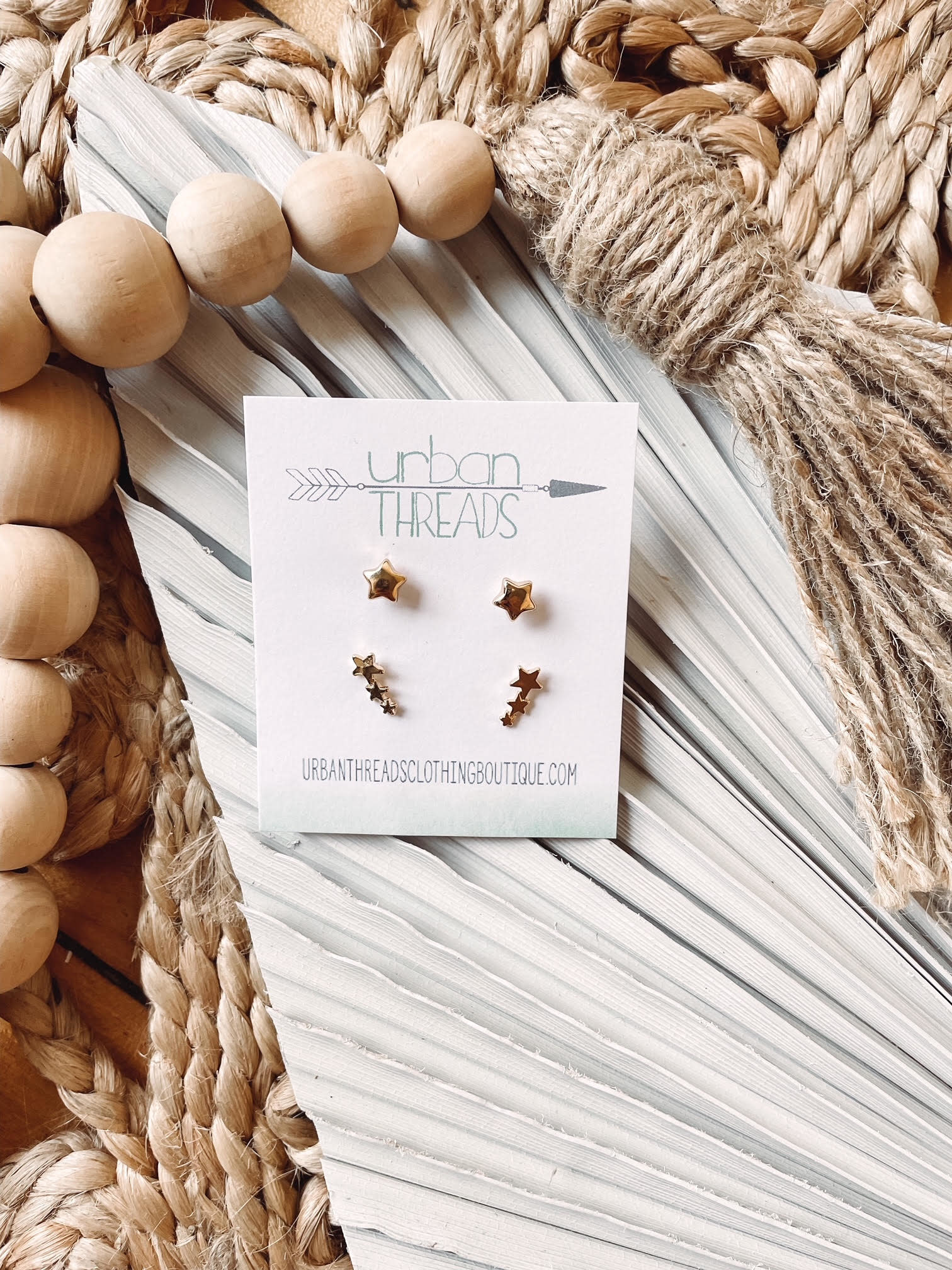 Kennedy Stars Earring Set