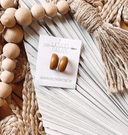 Clara Natural Wooden Earrings