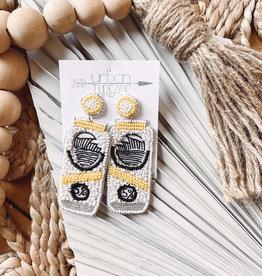 Yellow Hard Seltzer Earrings