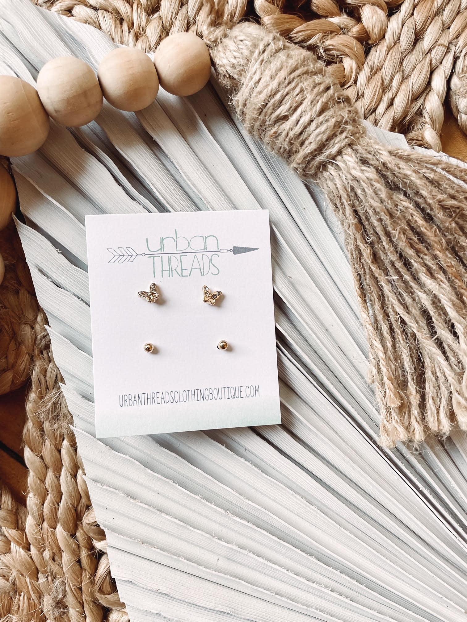 Gretchen Earring Stud Set