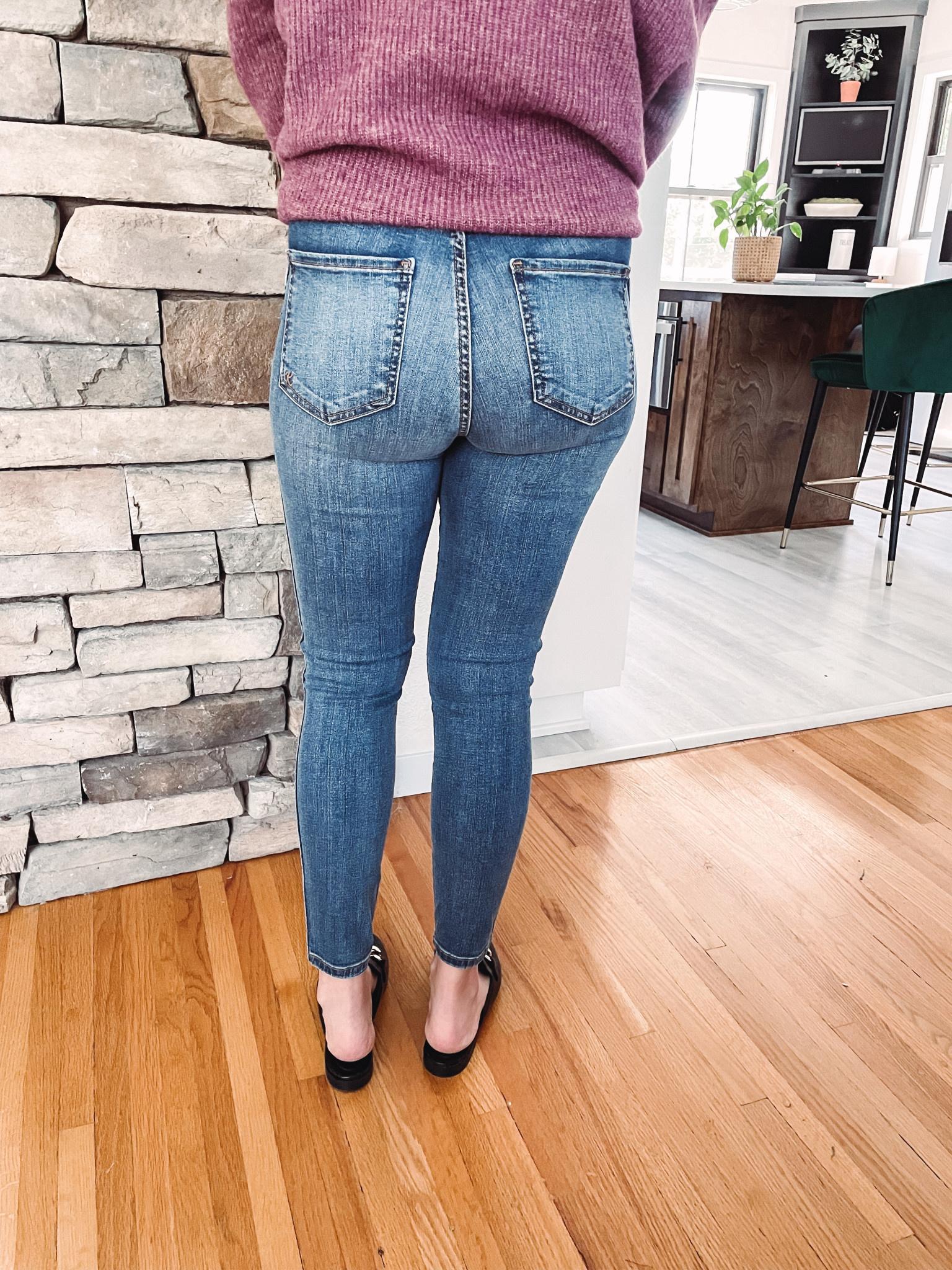 Connie High Rise Medium Wash Jeans