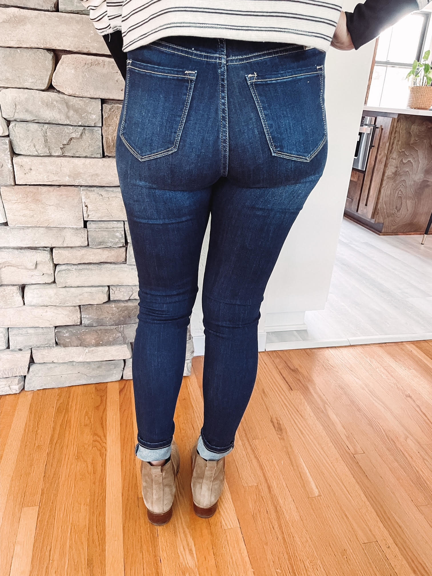 Taylor High Rise Skinny Jeans