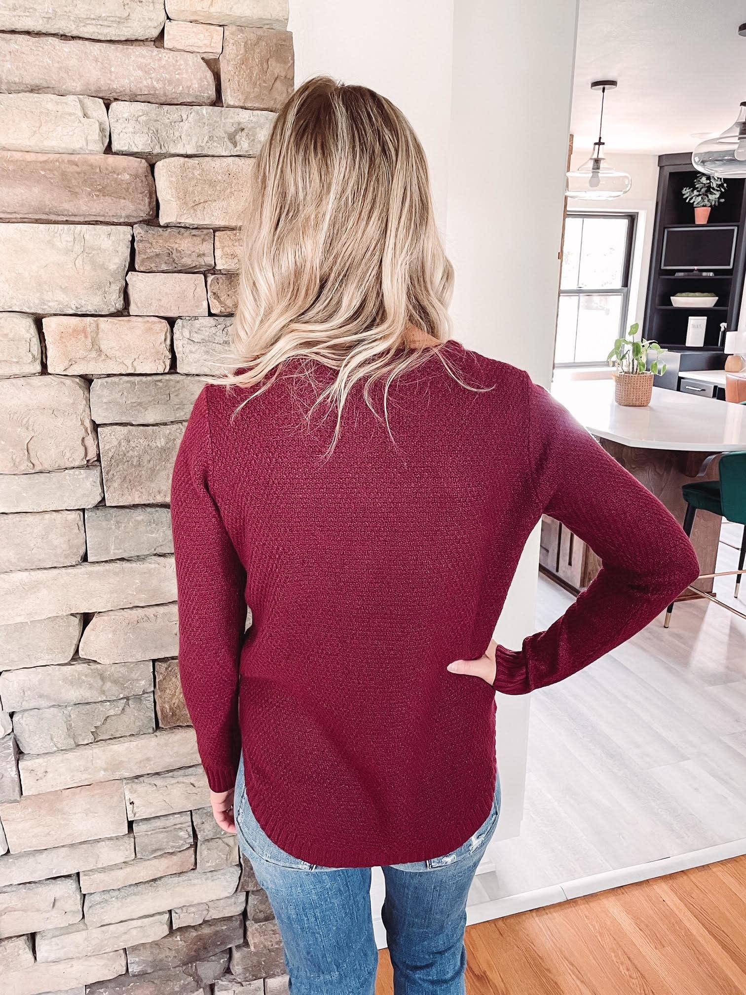 Alexa Scarlet Sweater