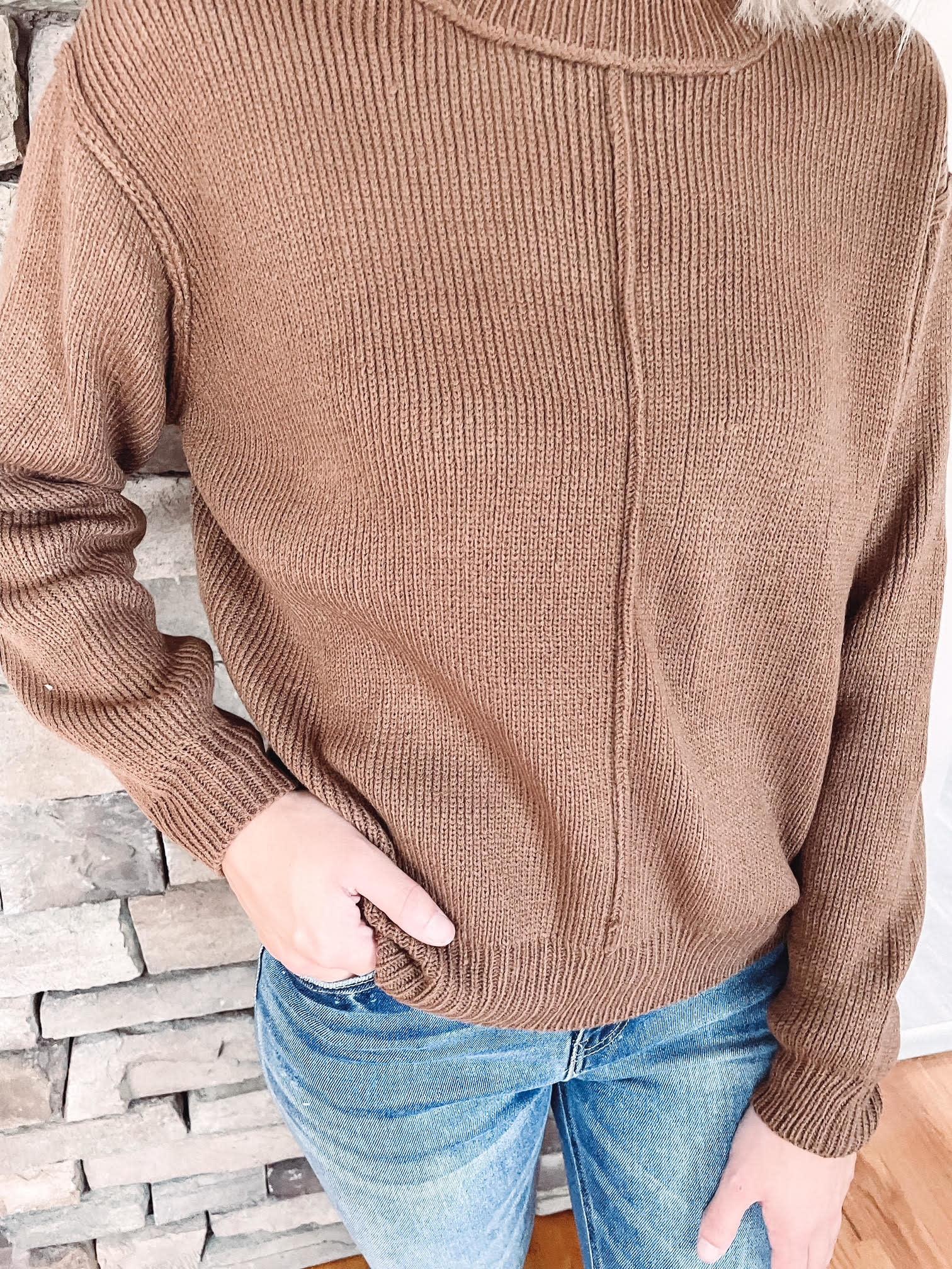 Avery Coffee Sweater