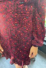Kendra Berry Floral Dress