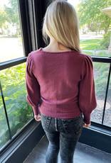 Emily Puff Sleeve Sweater