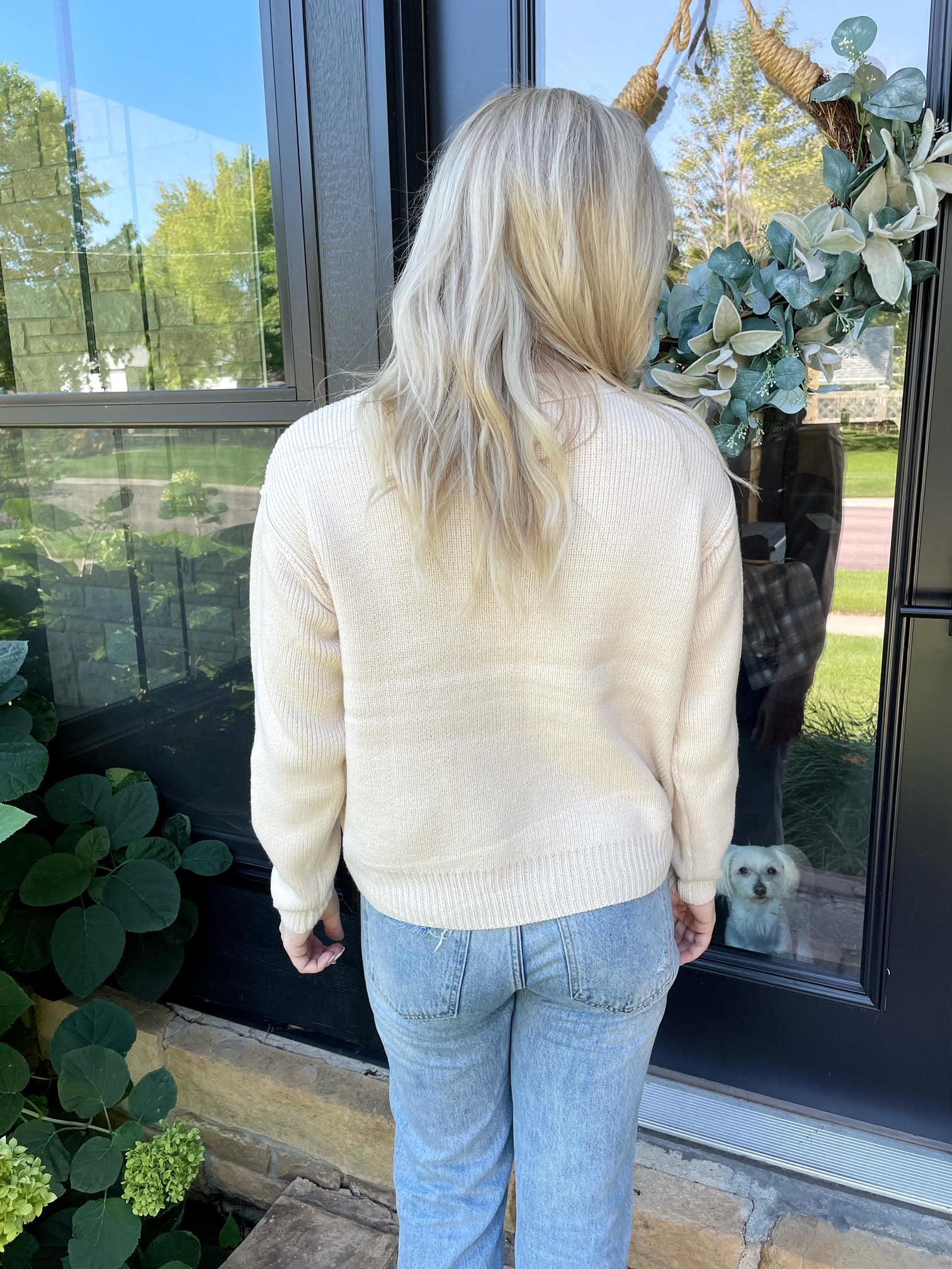 Isabella Cream Sweater