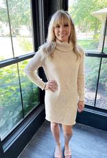 Mila Oatmeal Sweater Dress