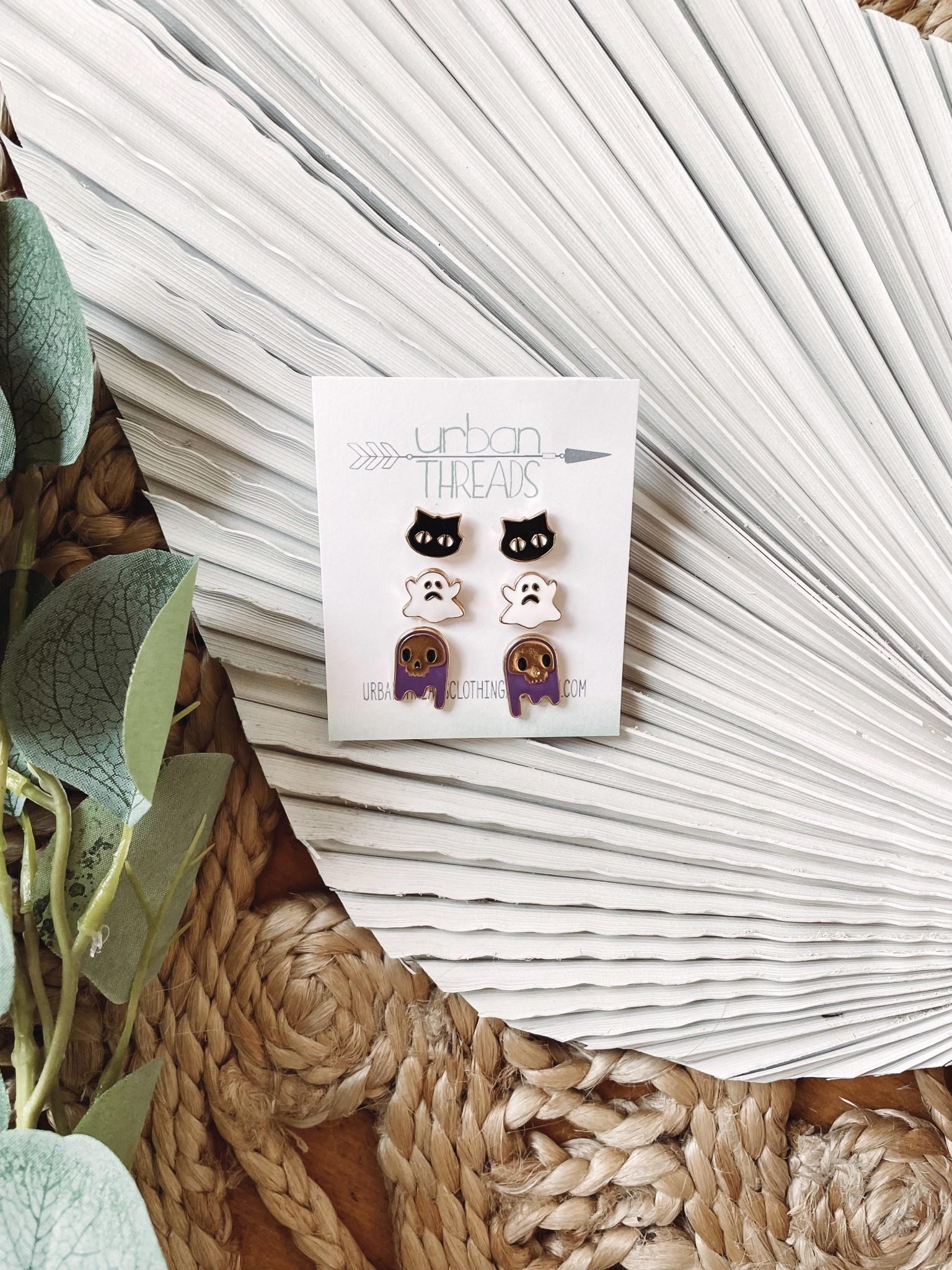 Spooky Earring Set