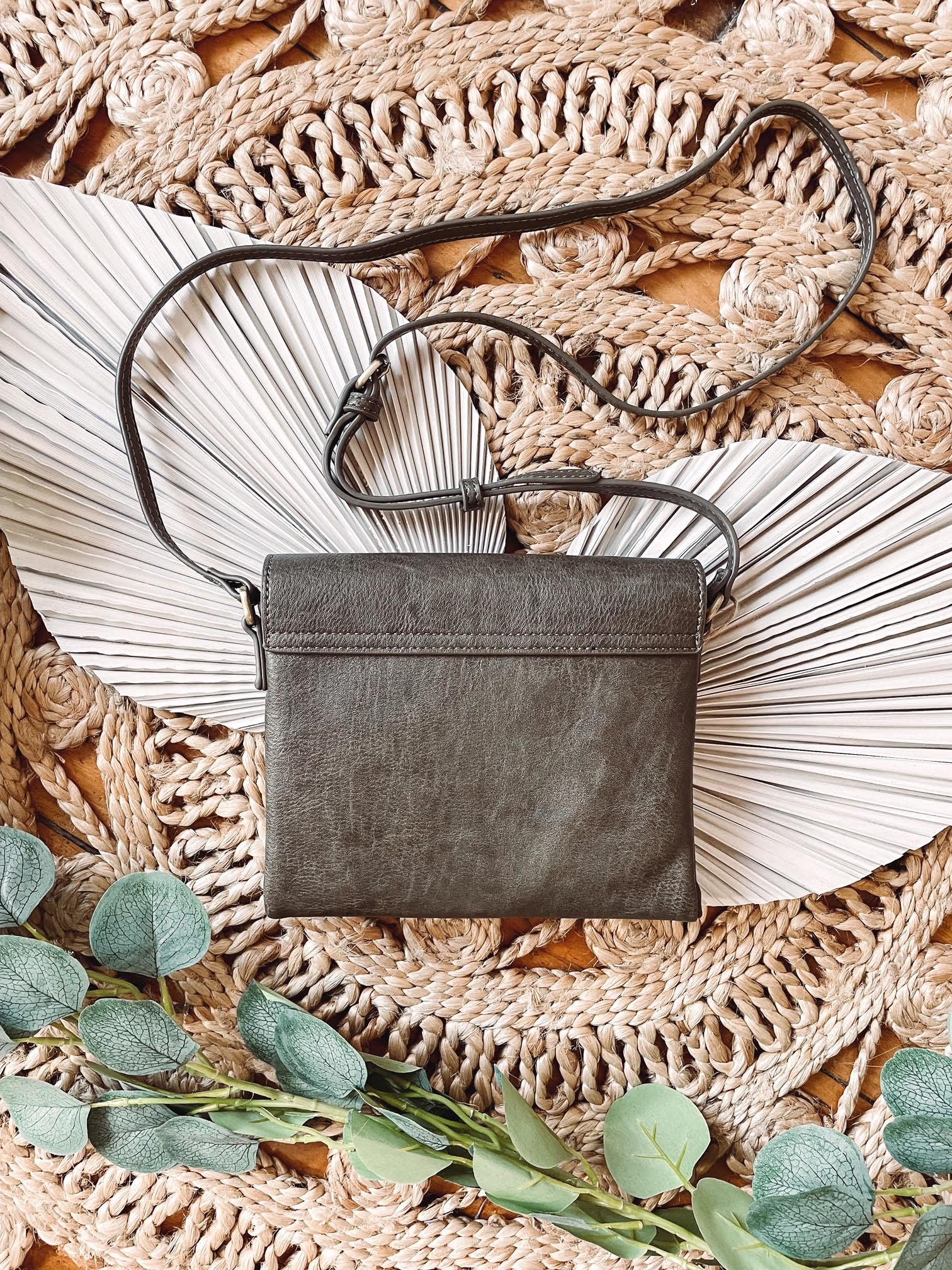 Jessika Olive Crossbody Bag