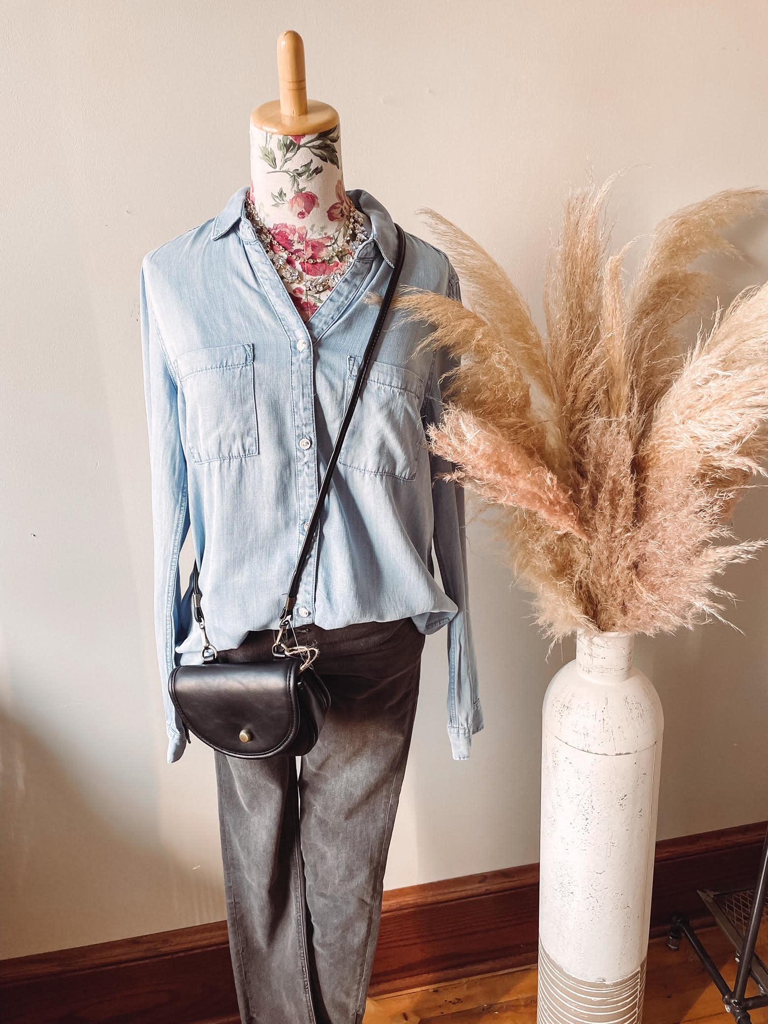 Mel Black Crossbody + Waist Bag