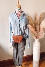 Mel Tan Crossbody + Waist Bag